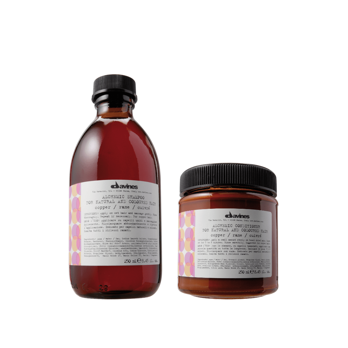 Davines Alchemic Shampoo & Conditioner